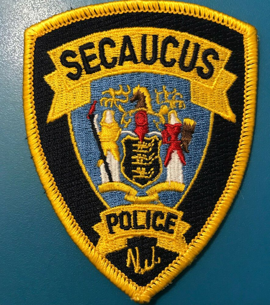 Details About Secaucus Police New Jersey Patch With Images