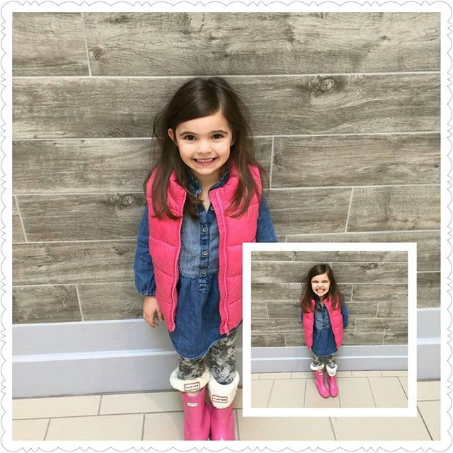 This #cutie got her first #haircut at #Charisma! Thanks to her amazing parents for trusting us with your babe! Stylist: Melissa 734-464-8686 for appointments. #firsthaircut #adorable #kidhairstyles #livoniastylist #livoniami #michiganstylist #livoniahairstylist #detroitstylist