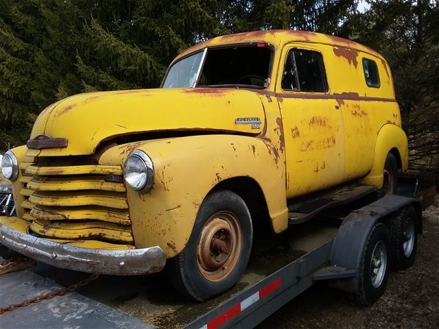 1951 Chevrolet Panel Truck For Sale In 2020 Panel Truck Chevrolet Trucks For Sale