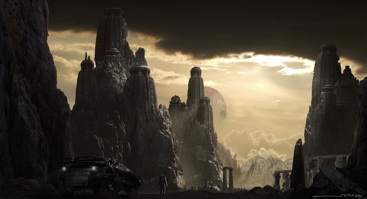 Matte Painting by gsemkow on DeviantArt