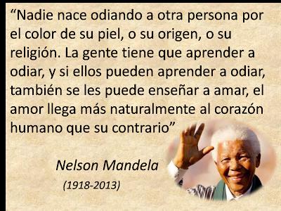 Lecciones Para Amar Frase De Nelson Mandela Sobre El Amor Citas De Nelson Mandela Frases De Nelson Mandela Citas De Einstein