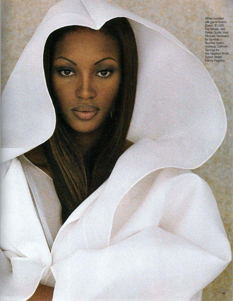 ☆ Naomi Campbell | Photography by Gilles Bensimon | For Elle Magazine US | April 1993 ☆ #naomicampbell #gillesbensimon #elle #1993