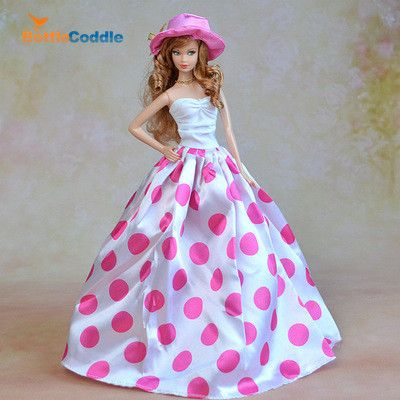 Top Doll Dress Pink Lototo Big Point Evening Gown Purely