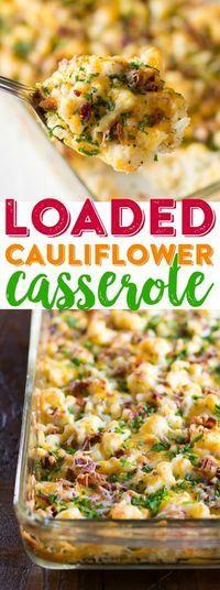 Loaded Cauliflower Casserole images