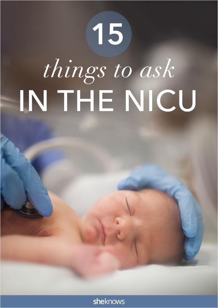 When you\'ve got a baby in the NICU, you need to speak up