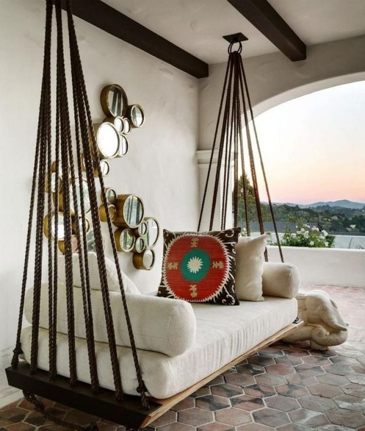 hanging chair home goods sleeper sofa cozy design ideas for outdoor