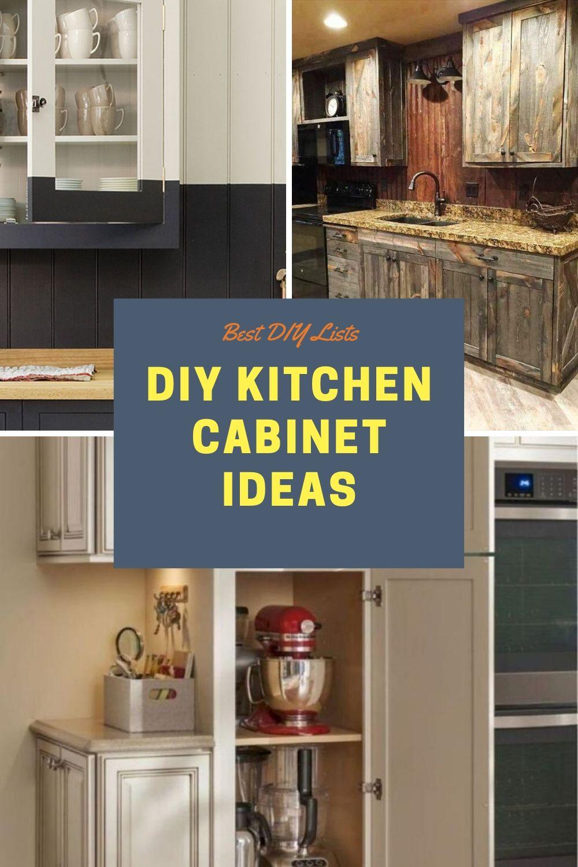 Best Kitchen Cabinet Diy Ideas In 2020 Kitchen Cabinets Diy Kitchen Cabinets Best Kitchen Cabinets