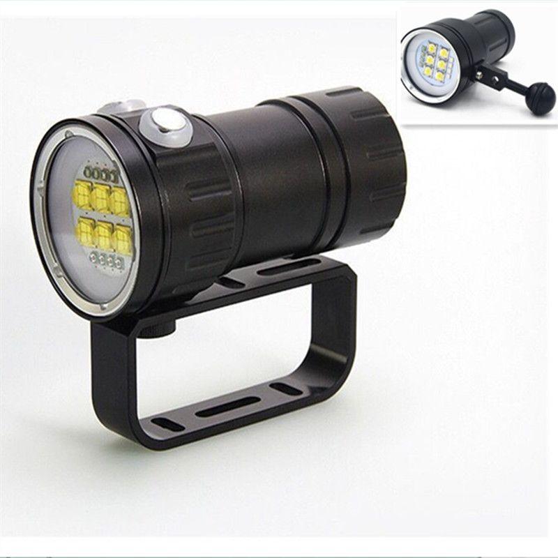 9f286263cd4 Specificatie: Naam Onderwater lamp Onderwater diepte 80m Lichtbron 6x 9090  Wit Licht L2 + 4x
