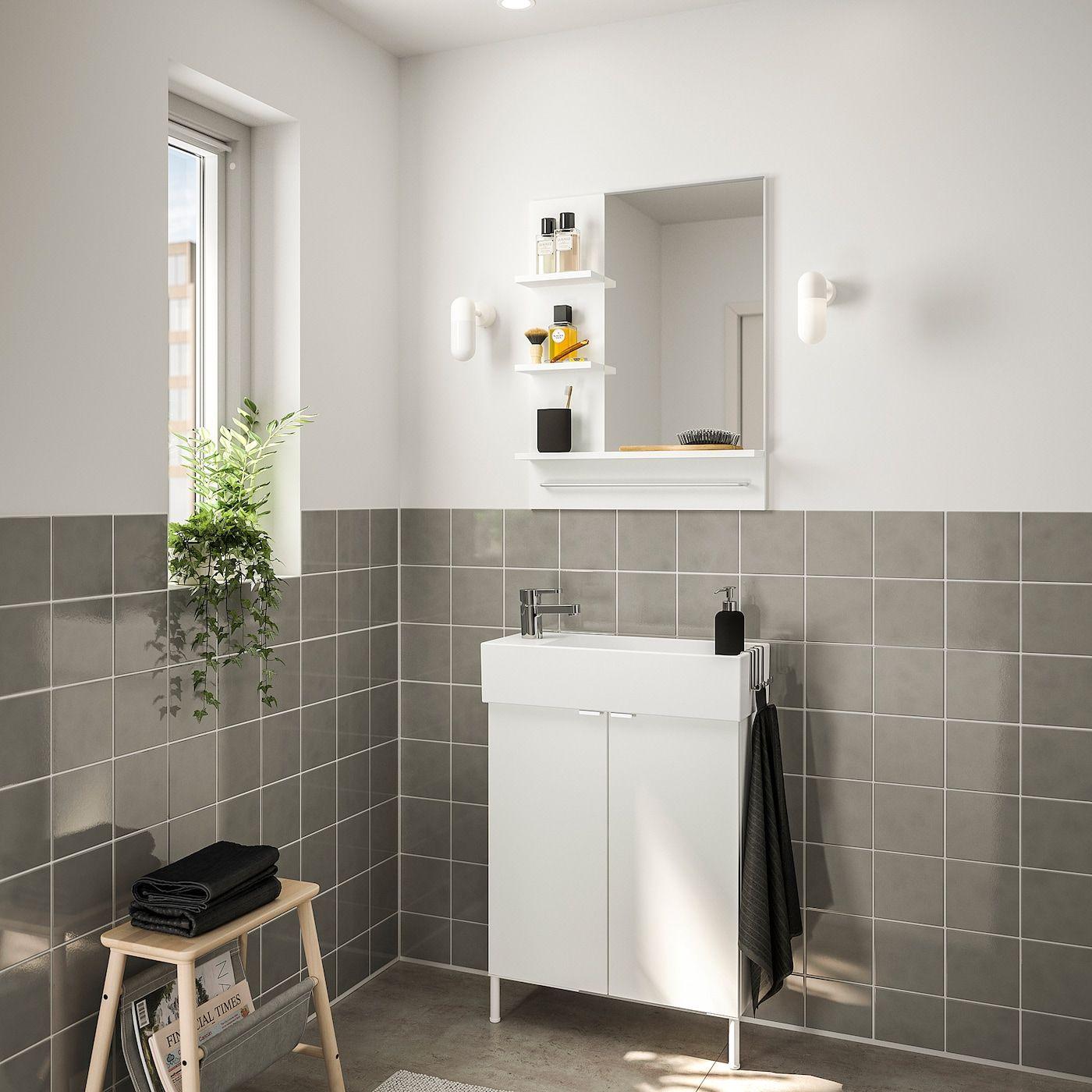 IKEA – LILLÅNGEN / Bathroom furniture, set of 5