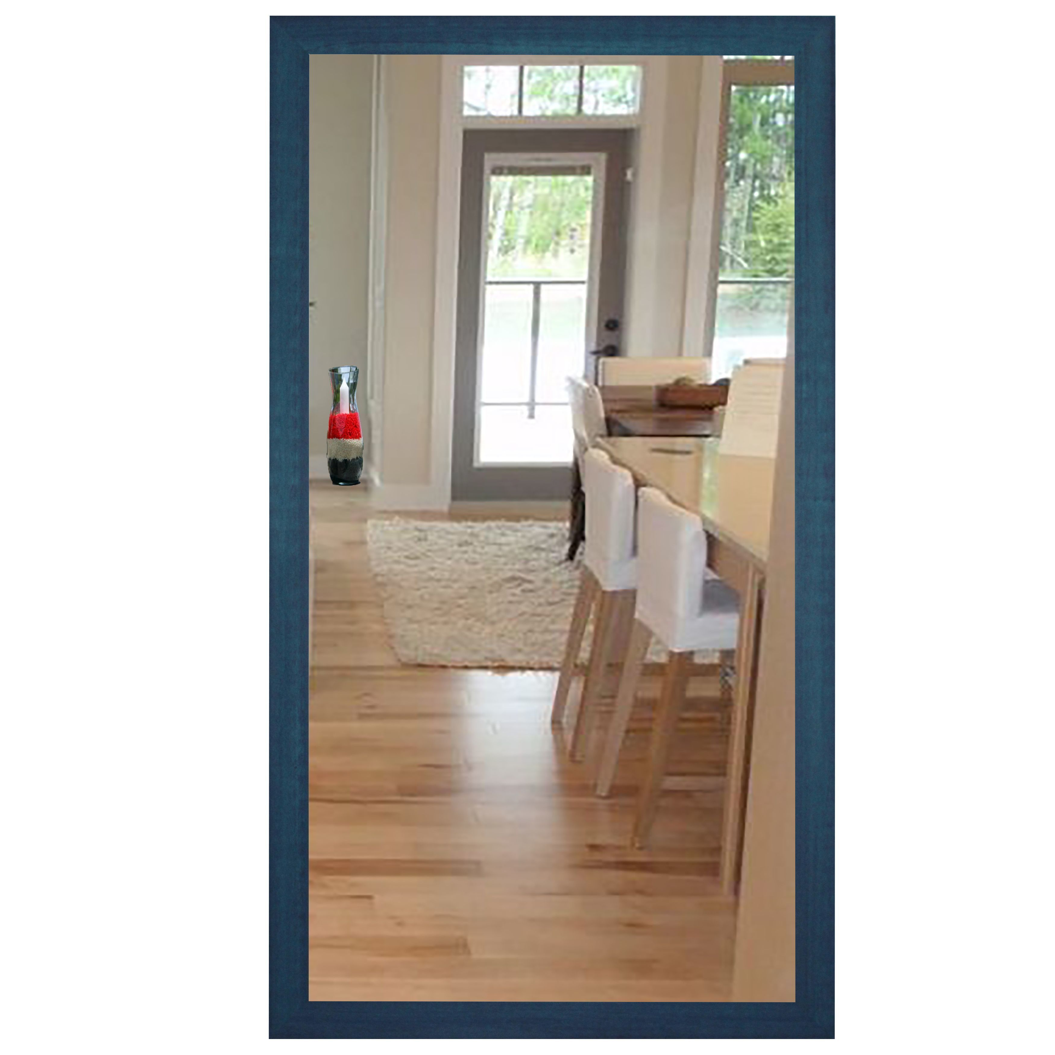 Rayne Mirrors U S Made Country Cottage Blue Framed Mirror 40 X 60