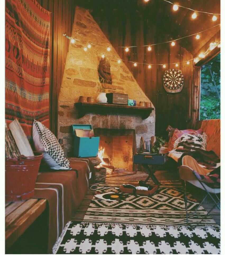 Cosy, Patterned, Chilled Living Room