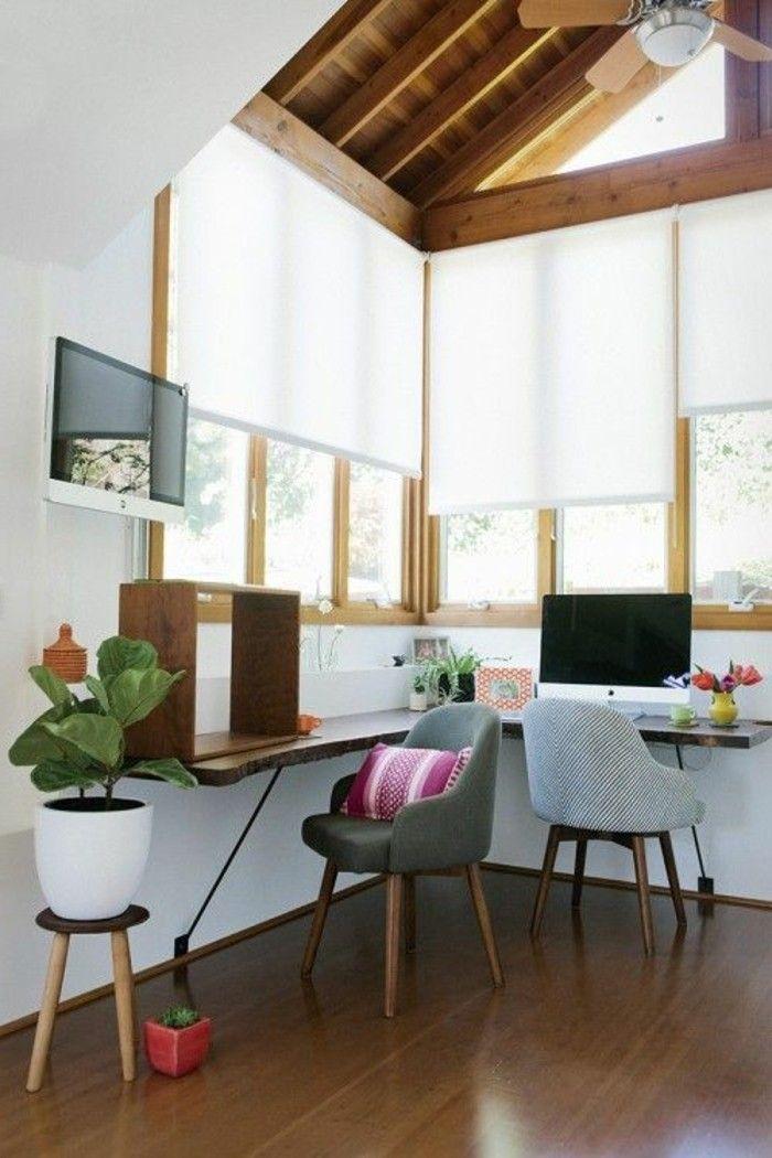 Büro Schreibtisch Design Gemütlich Gestalten