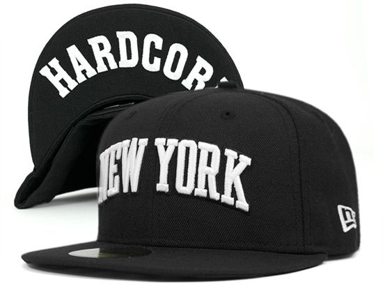 newest 0692f a73e4 Hardcore New York New Era 59fifty, New Era Hats, Caps Hats, Men s Hats