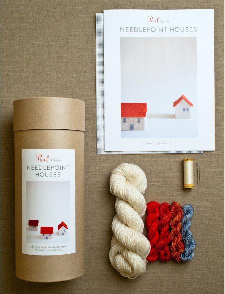 Needlepoint Houses Kit
