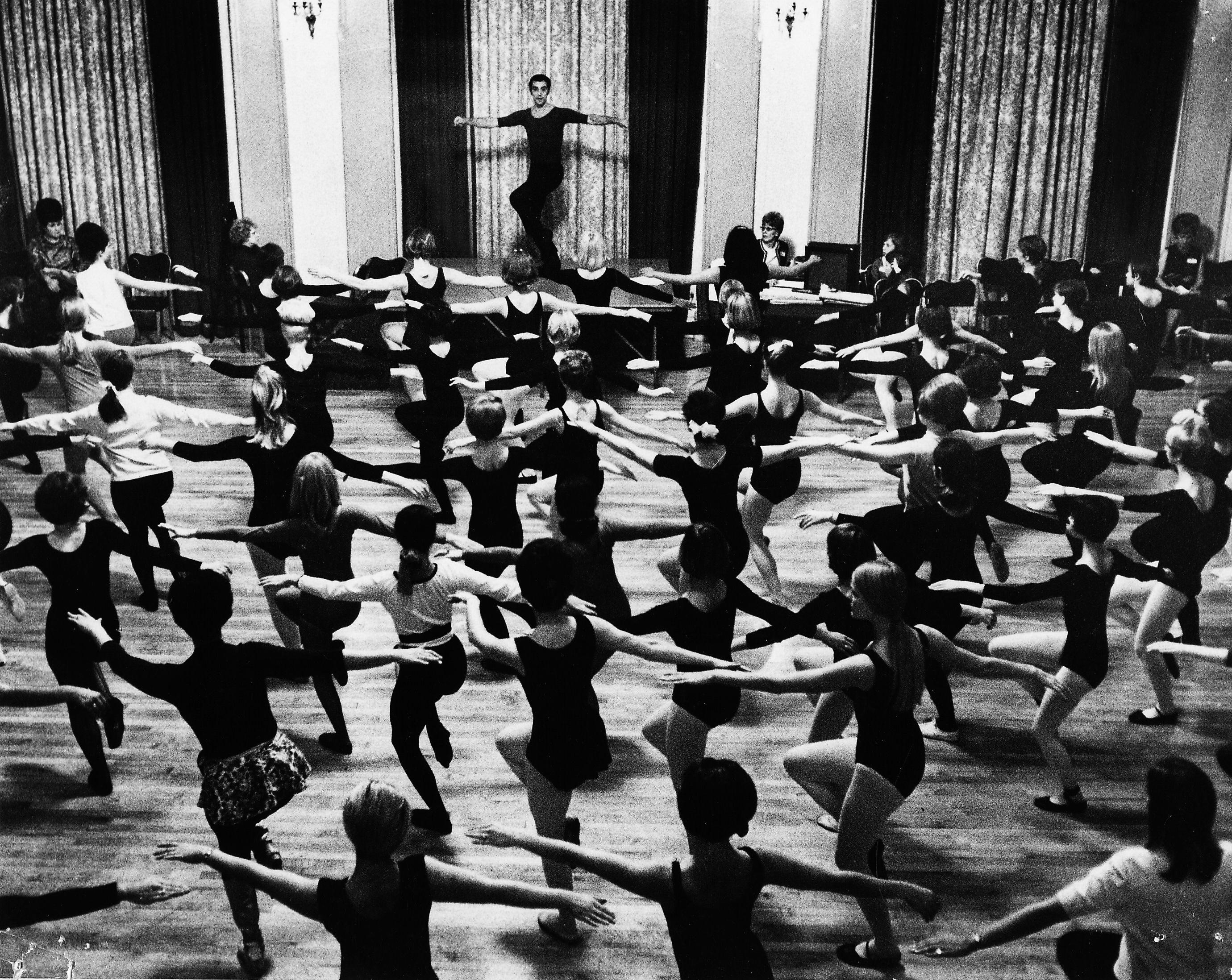 Master Teacher Gus Giordano Photo Jazz Dance Dance
