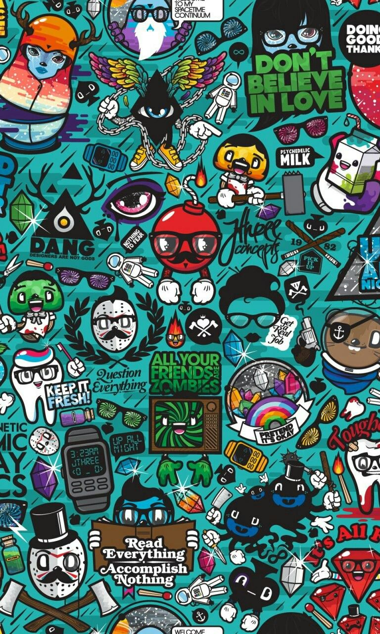 Graffiti wallpaper by Cracked on Wallpapers