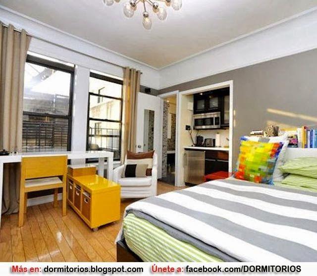 Decoracion monoambiente ideas dormitorios fotos de for Imagenes de diseno de interiores