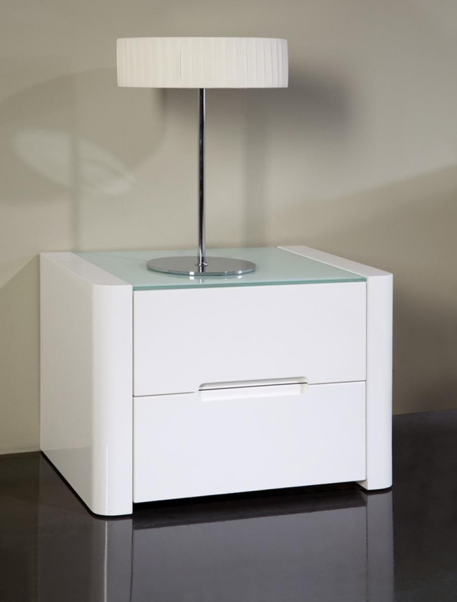 Contemporary 2 Drawer Bedside Cabinets