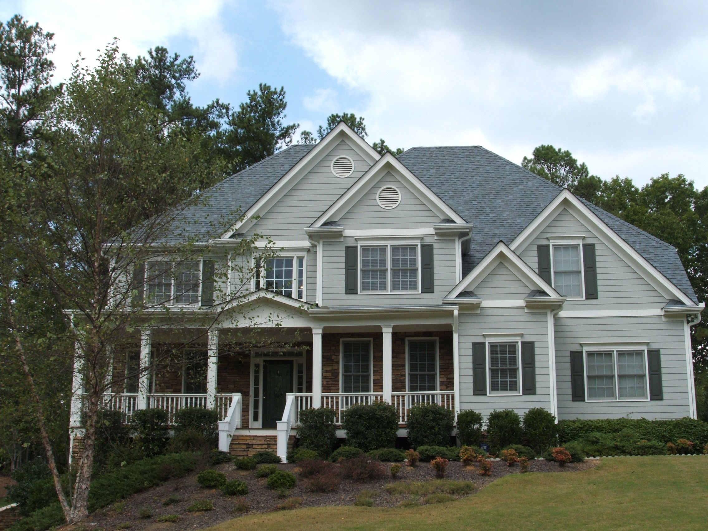 Owens corning estate gray pictures google search this for Best roof color