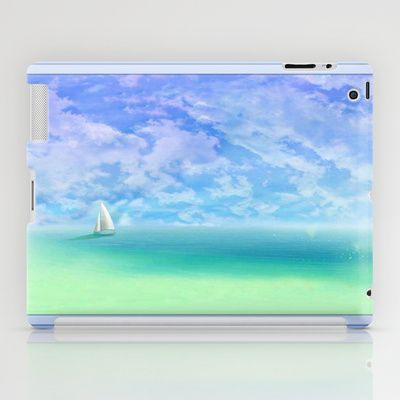 Sailing The Open Seas iPad and Tablet Cases by Judy Palkimas