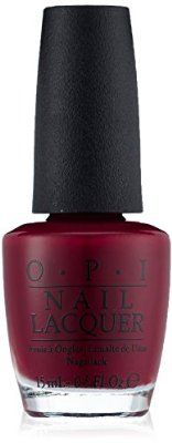 OPI Nail Lacquer, Malaga Wine, 0.5-Fluid Ounce