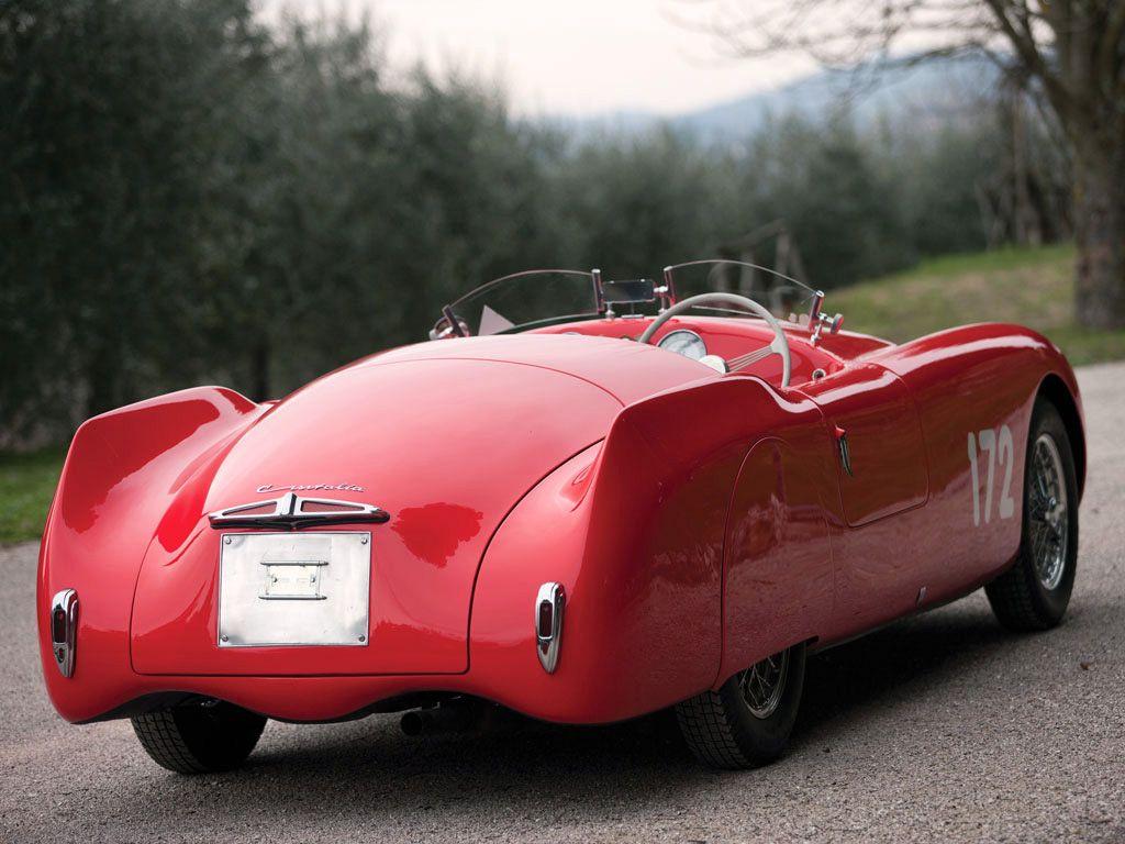 1947 Cisitalia 202 SMM Nuvolari Spider http://cashforcars-junkcars.net