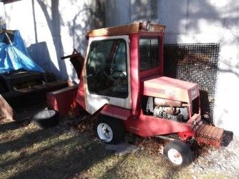 Toro groundsmaster mdl 322 d tractor snowblower enclosed cab tractor publicscrutiny Choice Image