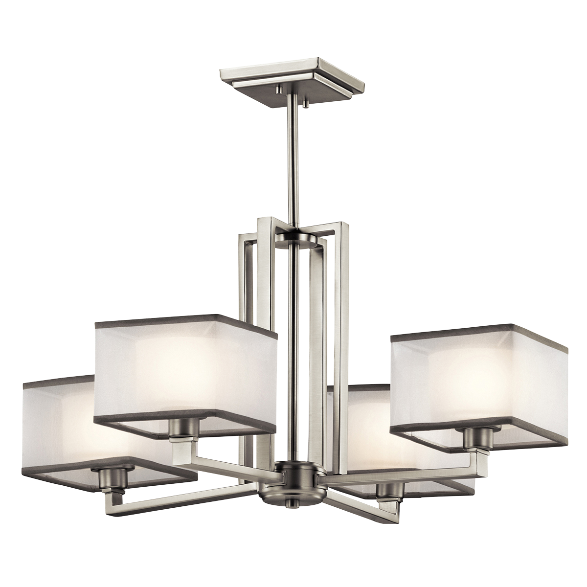 4 Light Chandelier - Kailey Collection $278 | lighting | Pinterest ... for Modern Chandelier Png  181plt