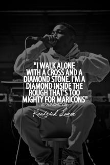 Kendrick Lamar Rap Lyrics Quotes Words