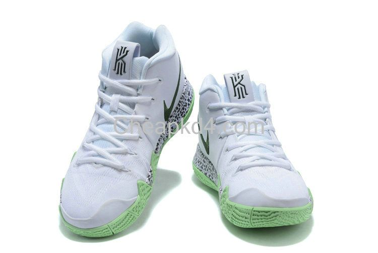 low priced 0cc00 35851 Latest Cheap New Arrival March 2018 Nike Cheap Kyrie 4 White Glow In The  Dark