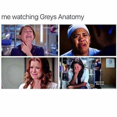 I enjoy watching Grey\'s Anatomy and having it ruin my life. | Greys ...