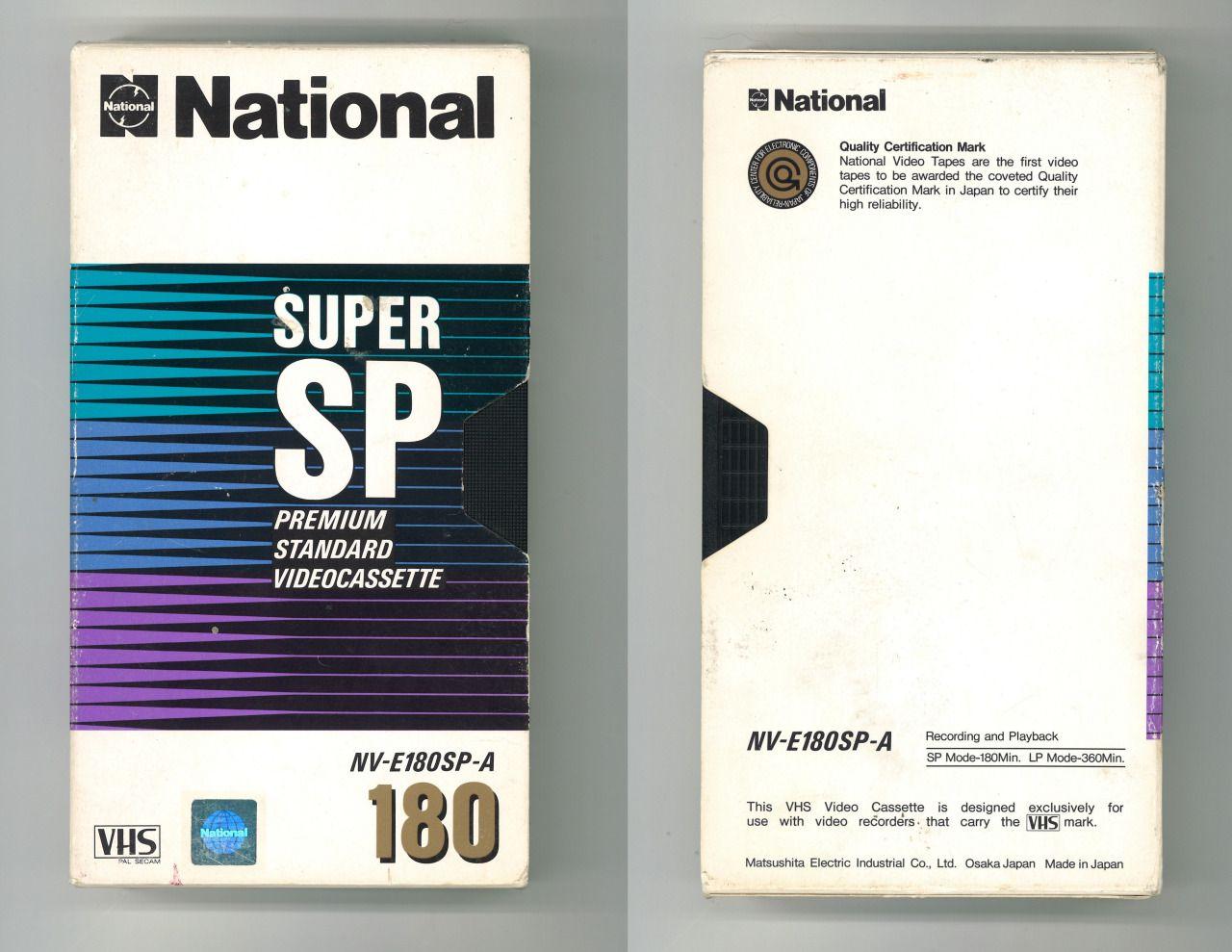 Premium Standard Videocassette