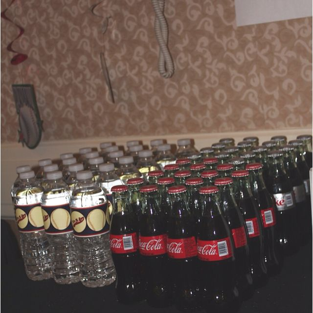 Water bottles & Classic Coca-Cola bottles of course!