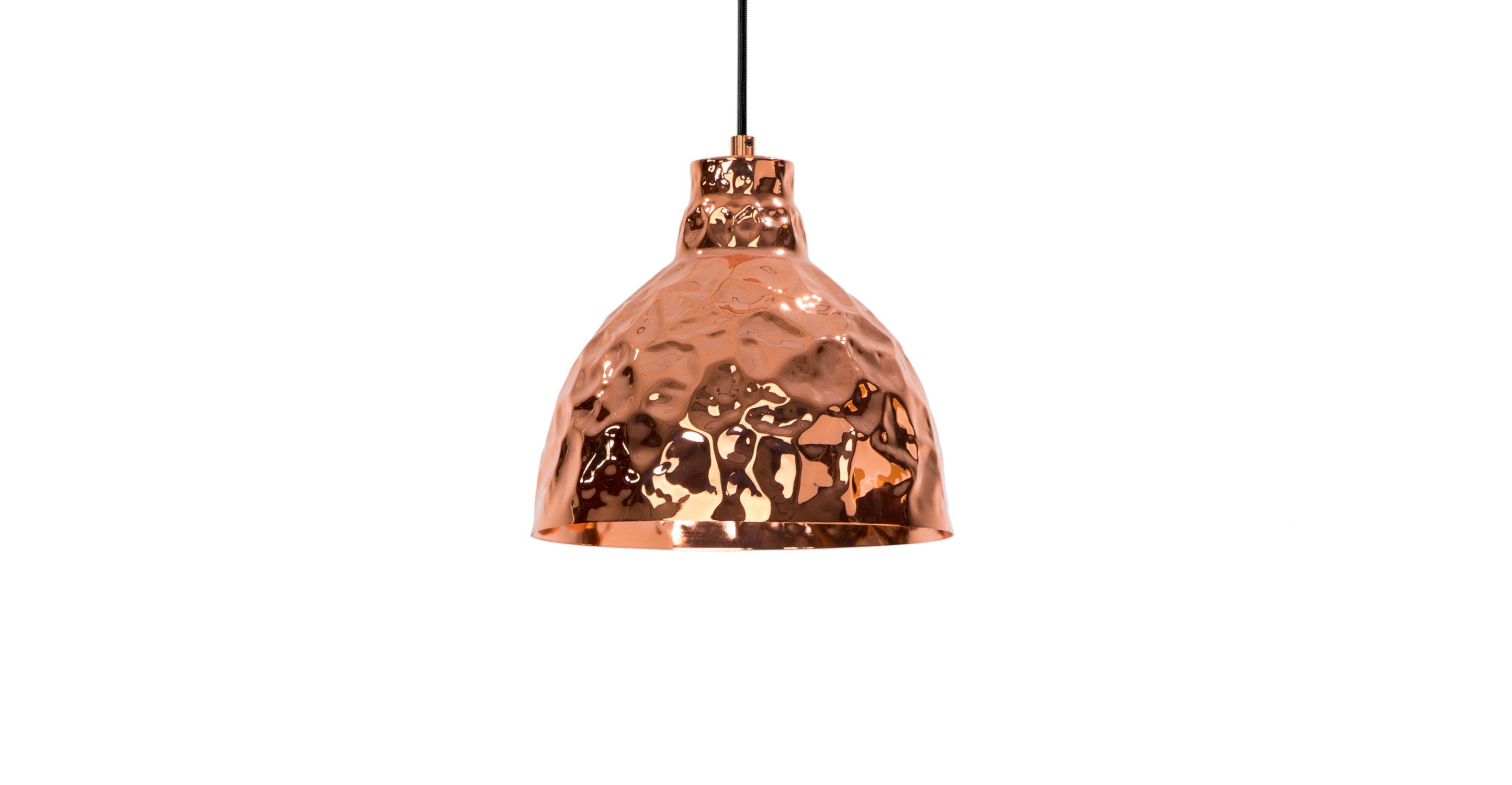 crumple white pendant lamp lighting. Beautiful Crumple Crumple Copper Pendant Lamp  Lighting Article  Modern MidCentury And  Scandinavian Furniture Intended White R