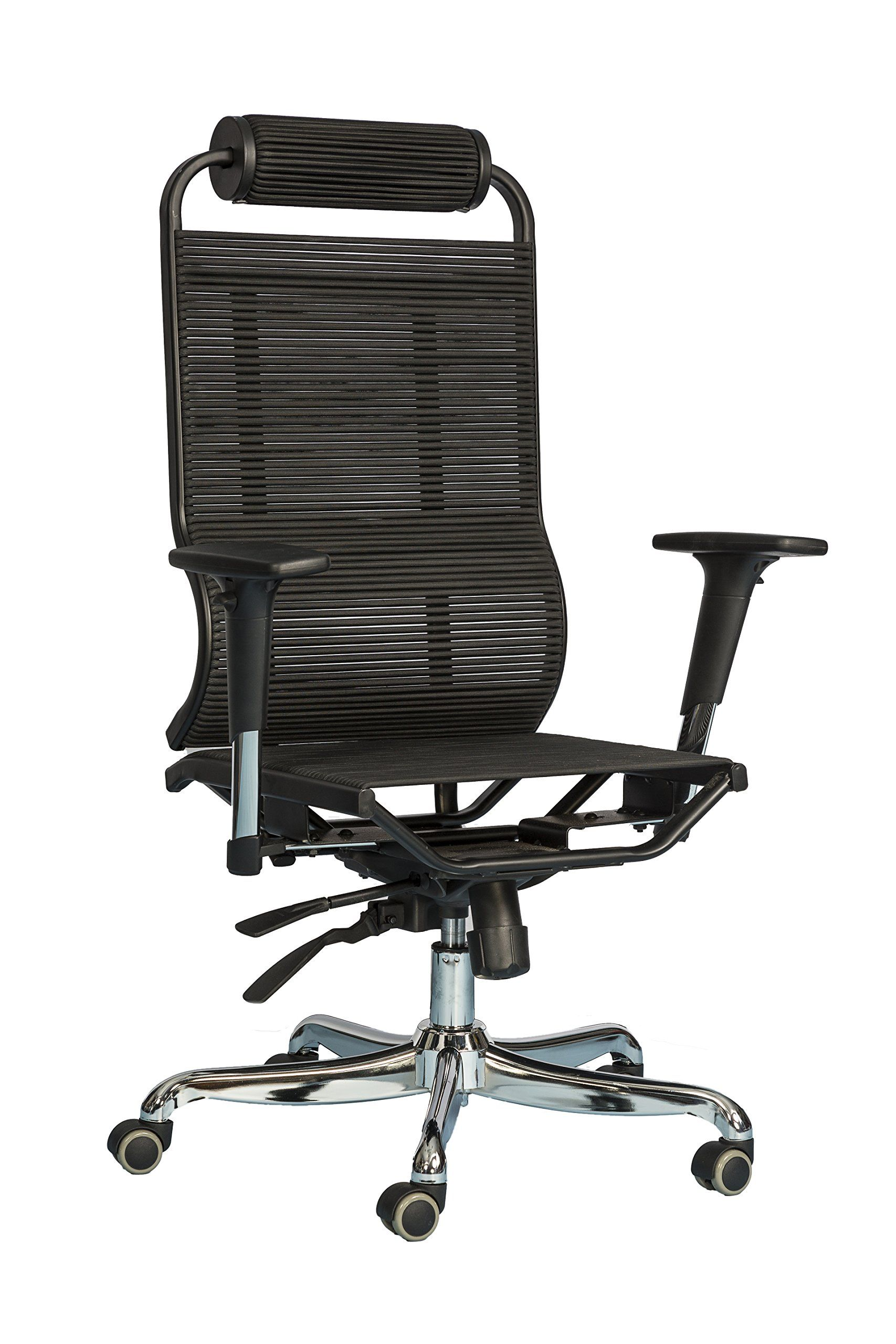 back swivel chair computer office pu high var itm executive desk leather fh foxhunter