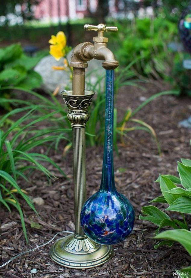 Diy Waterdrop Solar Lights Solarleuchten Garten Solarleuchten Diy Gartenbau
