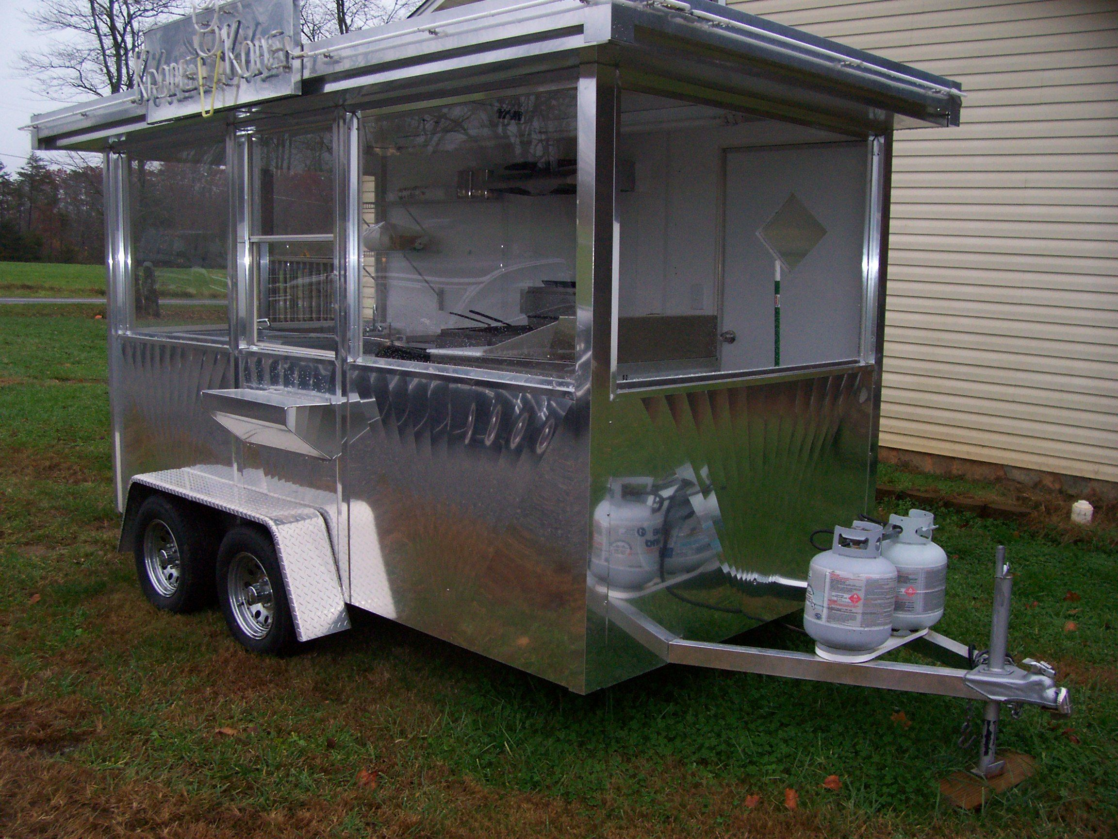 Used Concession Trailers Food Trailer For Sale Food Trailer