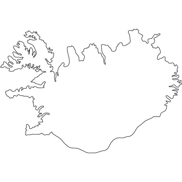 OUTLINE MAP ❤ liked on Polyvore featuring map
