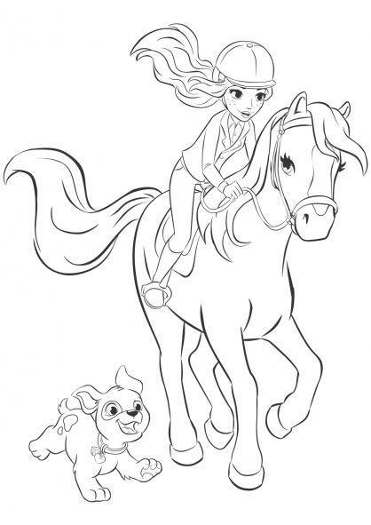 lego friends pferde ausmalbilder 855 malvorlage lego