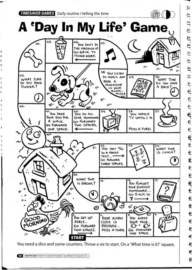 image result for time esl game kids crafts idiomas. Black Bedroom Furniture Sets. Home Design Ideas