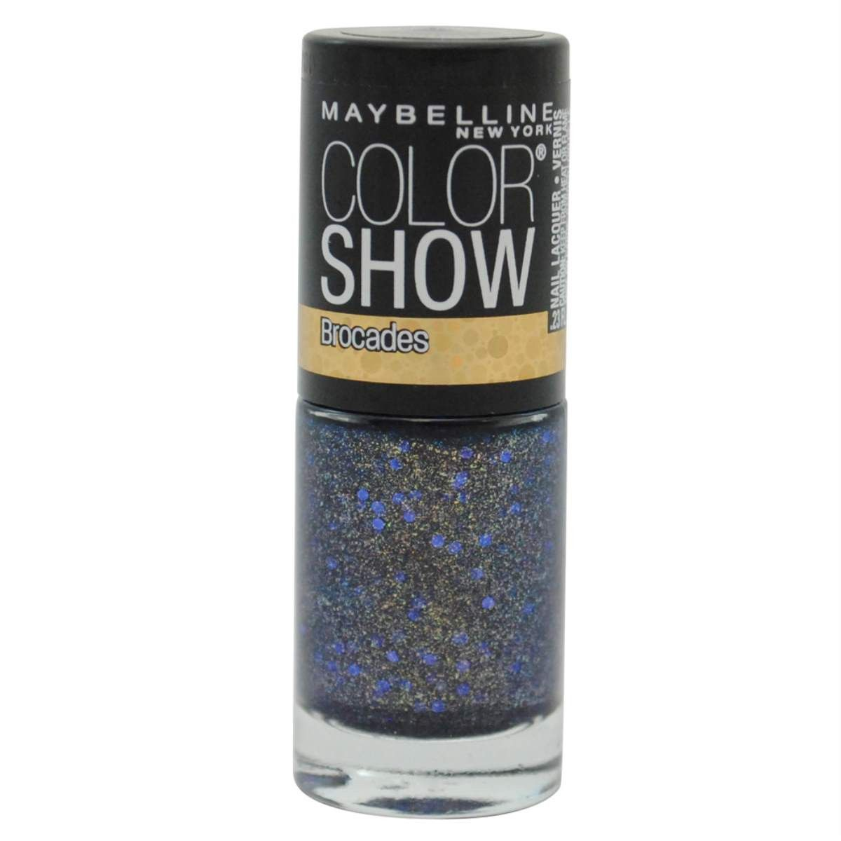 Maybelline Color Show Brocades Nail Lacquer #755 Embellished Blues