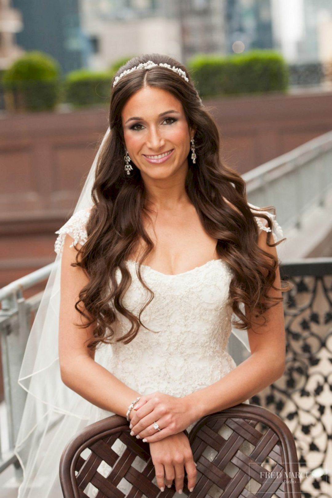 12 adorable half up half down wedding hairstyle for women