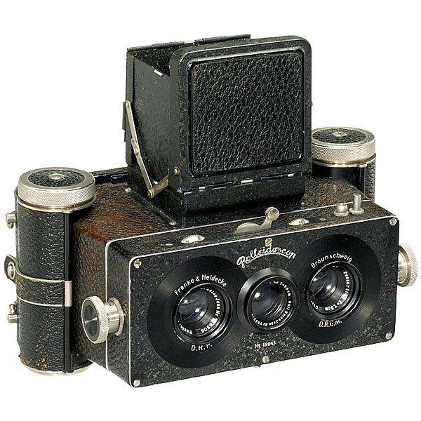 34: Rolleidoscop 3rd Model (PR 017), 1927 | Vintage Cameras