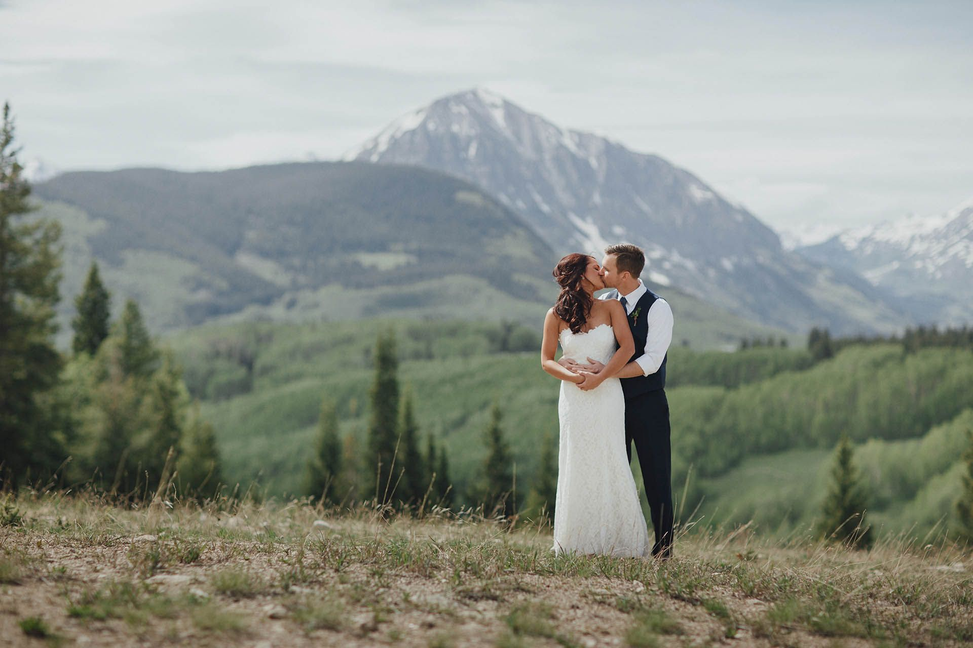mountain wedding in colorado