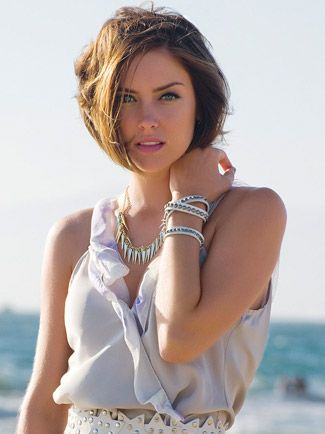 Erin Silver | Jessica stroup, Srt hair and Srt layered bobs