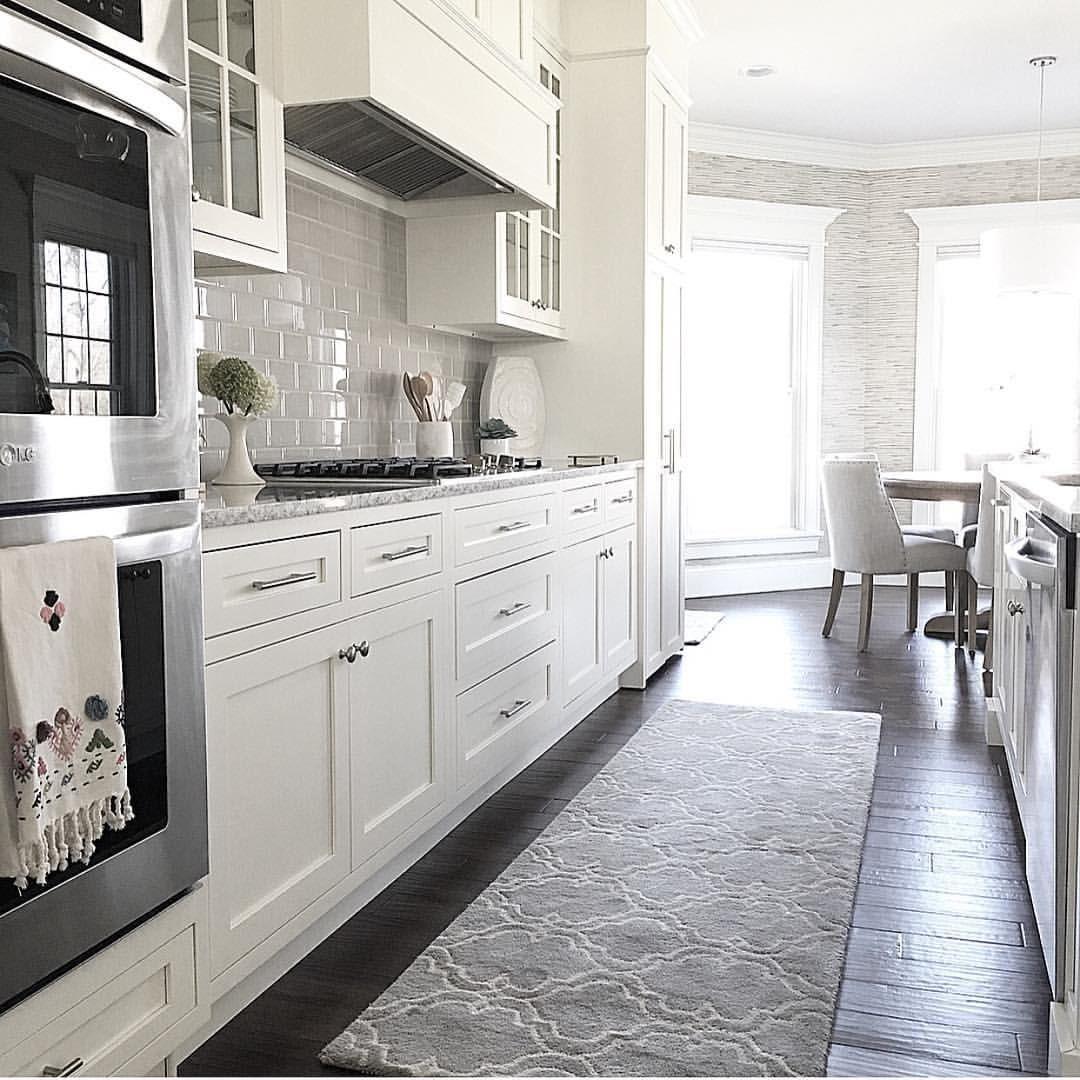 Carolineondesign White Kitchen Kitchen Kitchen Design Rug