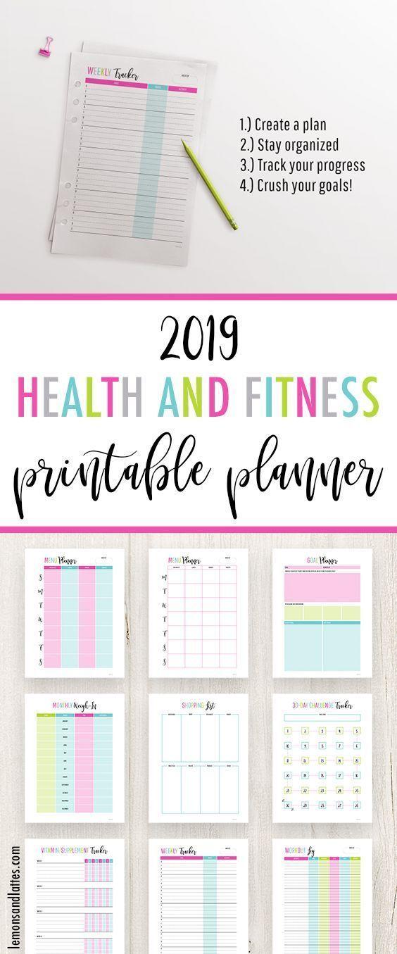 #fitness #Gesundheit #Pack #Printables #und Health and Fitness Printables Pack Gesundheits- und Fitn...