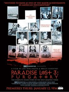 Les 3 Crimes De West Memphis : crimes, memphis, Paradise, Purgatory, (2011), Cartazes, Filmes,, Cartaz,, Filmes