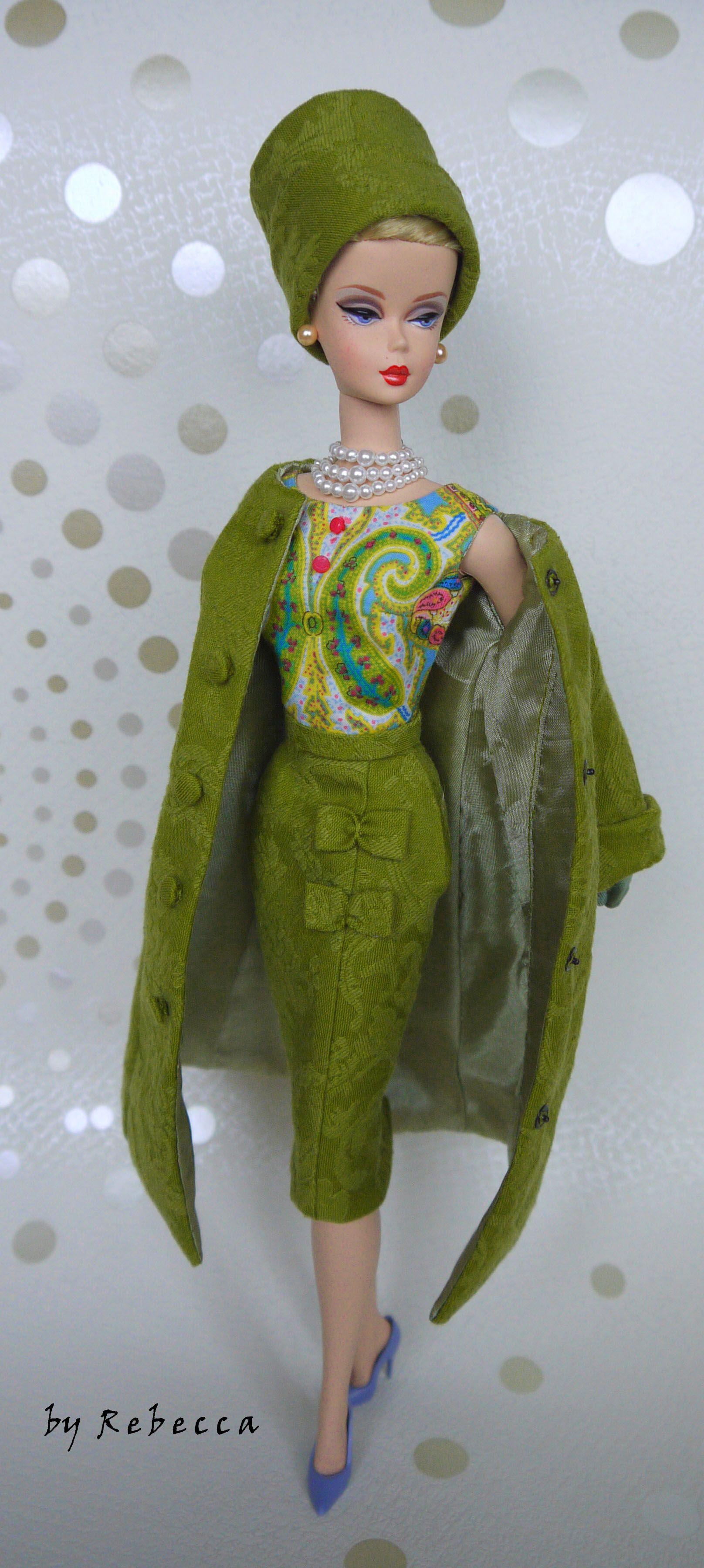 au2110 | Green outfits | Pinterest | Puppen und Kleider