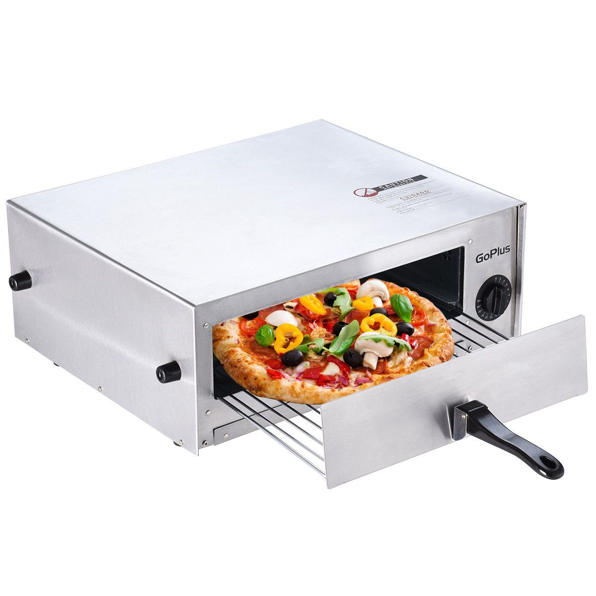 Details About Home Kitchen Pizza Oven Stainless Steel Counter Top